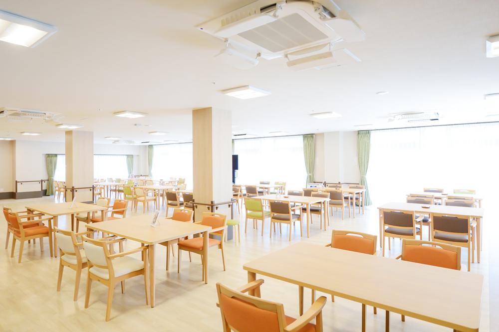 毎日の楽しみが増えるプレザンメゾン神戸白水の食堂
