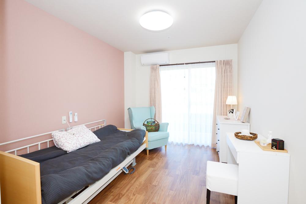 快適な暮らしを享受する居室