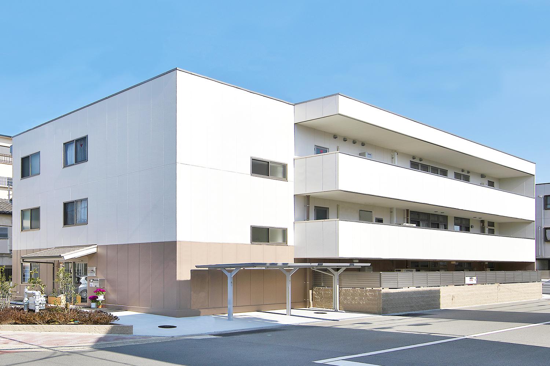 たのしい家駒川中野外観