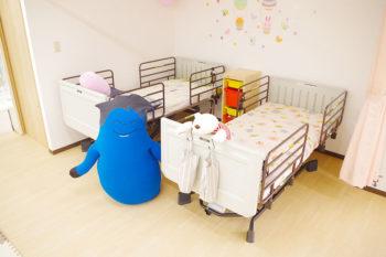 ベッド2台設置